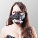Kunstleder cosplay mondmasker