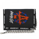 wholesale Light Garlands: Purse with embroidered anarchy logo and ...
