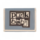 wholesale Wallets: Wallet with 3D rubber PUNK BABY logo