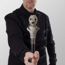 Cyber steampunk walking stick