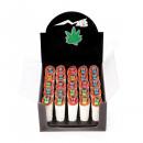 grossiste Briquets: Marijuana Funny Joint briquets dans le Display