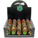wholesale Lighters: Legalize Weed Smoking Rasta Man Lighters in the