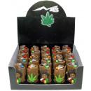 grossiste Briquets: Légaliser le cannabis Rasta Man briquets dans le