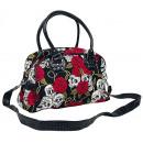 Banned alternative handbag with shoulder strap