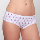 Großhandel Dessous & Unterwäsche: Girlie Unterwäsche mit Kirschen Aufdruck M/L