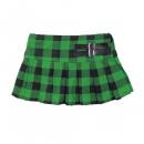 LD New York lányok szoknya zöld fekete válaszfalba
