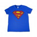 Großhandel Kinder- und Babybekleidung: Lizensiertes Superman Kinder T-Shirt mit Logo ...