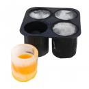 Shot glass of ice cube shape