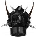 Steampunk respirator gas mask with respirator