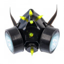 wholesale Nail Varnish: Gas mask with UV spikes and LED light Exclusive Ba