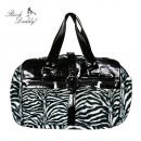 Zebra Fell Weekender Rockabilly Tasche