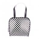 Bowling handbag checkered
