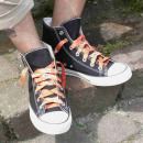 wholesale Shoe Accessories:Psychedelic orange laces