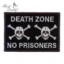 Naszywka Skull Zone Death Patch Na żelazku