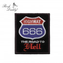 Naszywka z napisem Road to Hell