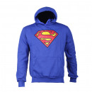 Unisex Superman Hooded jacket Distressed Logo XXL