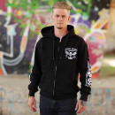 Billy Eight Hooded Jacket Unisex XXX Logo M