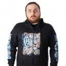wholesale Coats & Jackets: Men's hoodie jacket Wild Tiger M