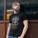 Großhandel Shirts & Tops: Wild Glow in the Dark Drachen Attack T-Shirt XL
