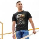 Großhandel Shirts & Tops: Wild Glow in the Dark Adler Bike T-Shirt L