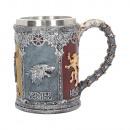wholesale Drinking Glasses: King of Thrones Sigil Krug beer mug