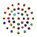 Szydełkowana piłka żonglerka Guatemala Fair Trade