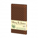 Mary & Juana Dark Cannabis Chocolate with Hemp