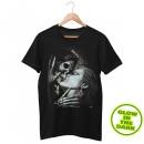 Świecić w ciemności T-Shirt Death Kiss Skull L