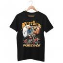 Motocyklista Wild Freedom Forever T-Shirt M