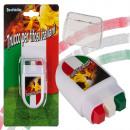 mayorista Gadgets y recuerdos: Fan-Schminke en perno bloque, la bandera de Italia