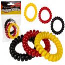 Plastic strap / hair tie, telephone cord, Englis