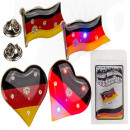 wholesale Electrical Installation: Flashing Metal badges, Germany Flag, ca