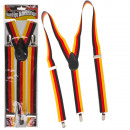 Suspenders, Germany Flag, unit size, on