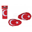 Outside mirror  flag with elastic, Turkey Flag, 2er