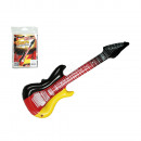 Inflatable guitar, German Flag, ca. 101 x 25 cm, i