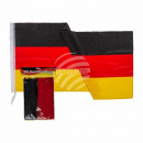wholesale Gifts & Stationery: XXL Germany flag, approx. 180 x 120 cm, in the Pol