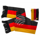 Fan scarf, Germany flag, about 150 cm, 100% Pol