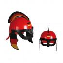 Plastikowe Roman Helmet, Niemcy flaga, o 27,5