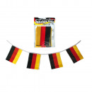 wholesale Home & Living: Garland, German Flag, ca. 3 m, with 21 x 14 cm fla