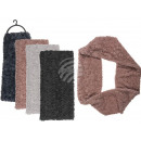 Winter tunnel scarf, Fluffy, 100% polyester