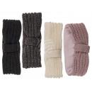 Winter headband, cable pattern, 100% polyacrylic