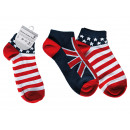 wholesale Stockings & Socks: Women sneaker  socks, Stars &  Stripes + Union ...