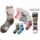 Ladies Cottage socks, Ice Flower, 100% acrylic, A