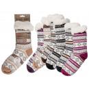 Ladies Cottage Socks, Stripes & more, 100% pol