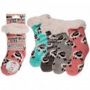 Children's hut socks, Little Sheep, 100% acryl