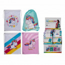 Fashion bag, unicorn, about 42 x 34 cm, 4 times as