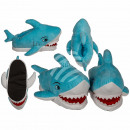 wholesale Shoes: Snug slippers, shark, 100% polyester , size: 37