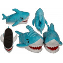 wholesale Shoes: Cuddly slippers, shark, 100% polyester , size: 31