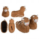Chaussons confortables, Lama, 100% polyester , Tai