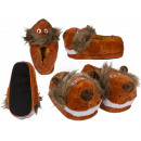 Kuschel slippers, lion, 100% polyester